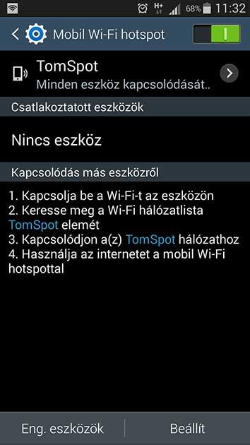 internetmegosztas_android
