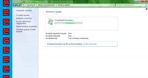 Windows 7 frissítés gyorsítása
