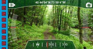 Túra navigáció okostelefonnal és geocaching
